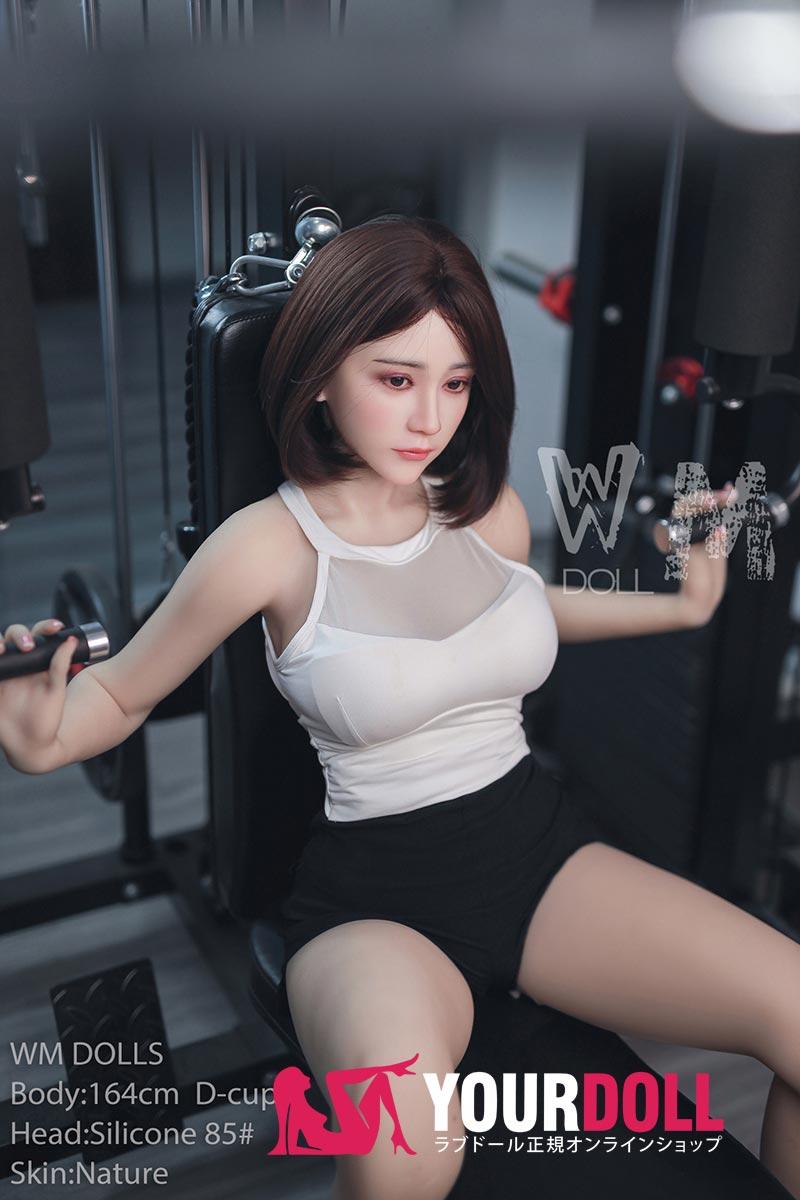 WM Dolls  月野 164cm  Dカップ #85ノーマル肌 シリコンヘッド +TPEボディ ラブ人形
