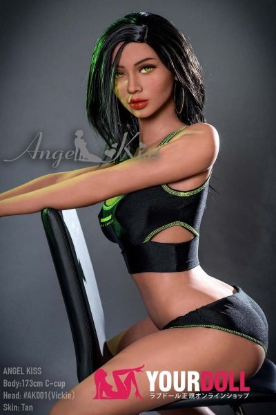 Angelkiss Vickie #AK001 173cm Cカップ ブラウン肌 欧米系美人外人ラブドール