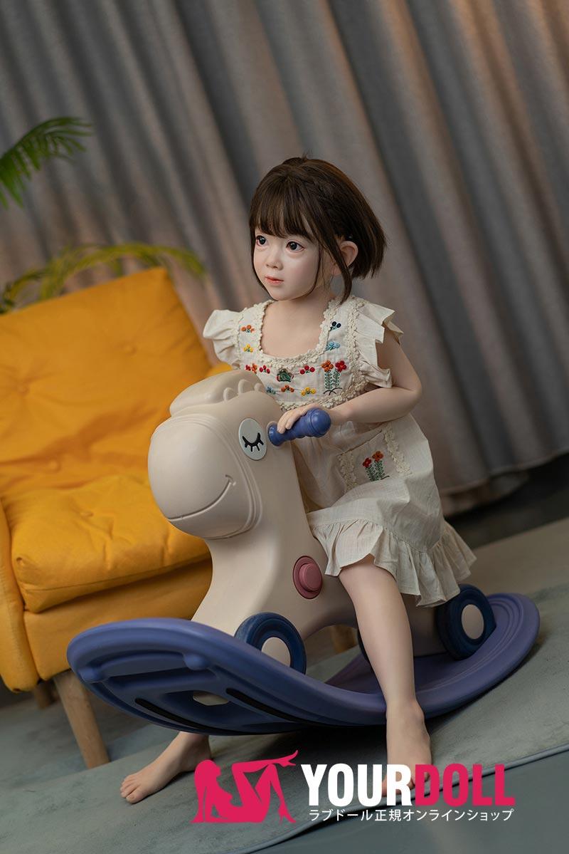 WaxDoll  茉莉  G58  110cm  AAカップ  ノーマル肌  フルシリコン ラブドール 子供  3Dスキャンのボディ