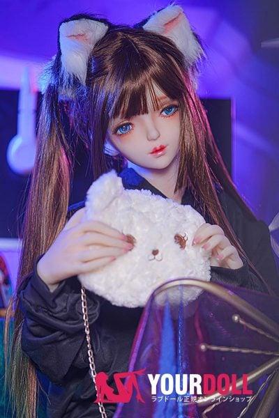 MOZU  M8ヘッド 145cm  肌色&瞳色&ウイング&メイク&服は画像と同じ ラブ人形