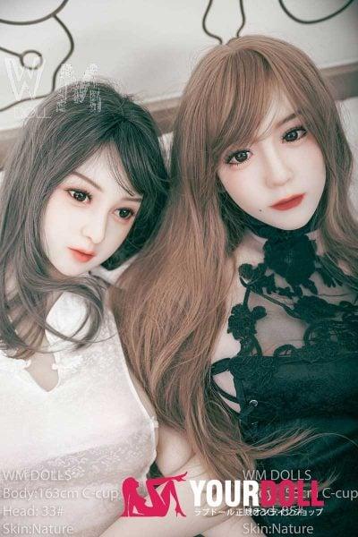 WM Dolls 夏香 158cm Dカップ #85  ノーマル肌  等身大 ラブドール