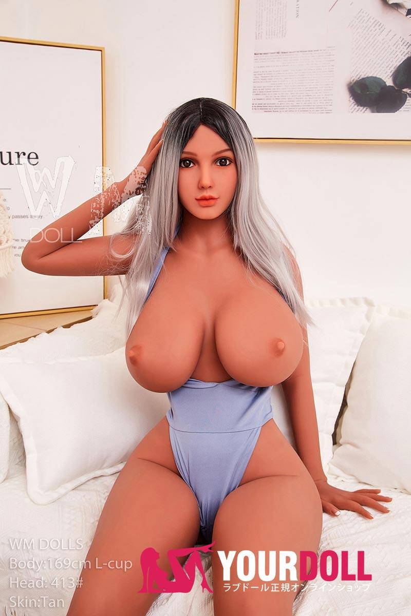 WM Dolls Rasha 169cm  Lカップ  #413 ブラウン肌  等身大ドール