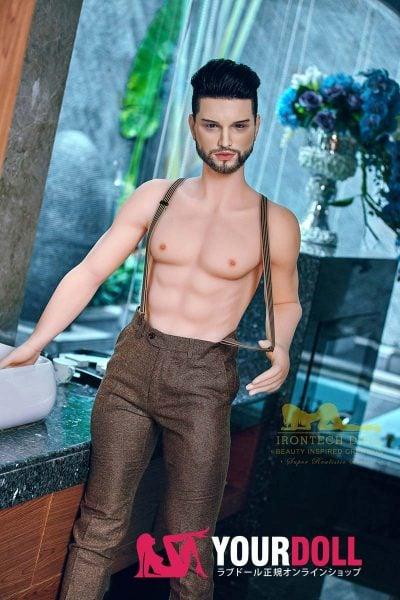 Irontech Doll Kevin 162cm  シリコンヘッド+TPEボディー 男性ラブドール