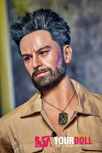 Irontech Doll William 175cm  シリコンヘッド+TPEボディー 男性ラブドール