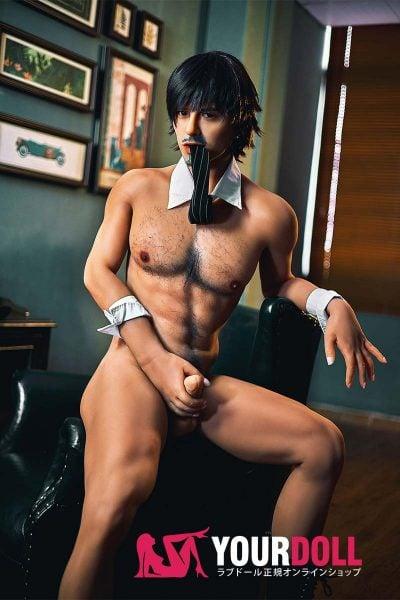 Irontech Doll Nicholas 175cm  シリコンヘッド+TPEボディー 男性ラブドール  ゲイ用