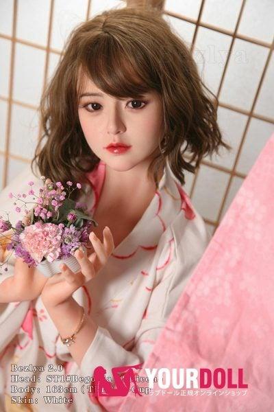 Bezlya Doll  海棠  163cm  良乳  シリコンヘッド+TPEボディ  純真無垢な美少女